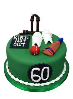Cricket Birthday Cake, Cricket Cake, 11th Birthday, Boy Birthday Parties, Birthday Cakes, Specialty Cakes, Handmade Decorations, Egg Free, Themed Cakes