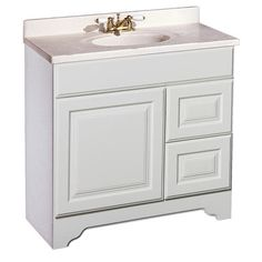 """Pace Charleston Series 36"""" x 21"""" Vanity with Drawers on Right"""