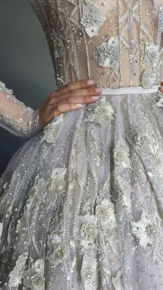 Paolo Sebastian new creation - Australia's first million dollar dress