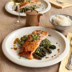 #RECIPE - Maple-Miso Dijon Salmon