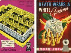 Dell Books 13 - Zelda Popkin - Death Wears a White Gardenia (with mapback)