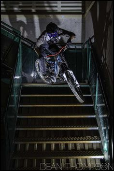 Done this down a railway bridge and down a hotel staircase! #LL @lufelive #MTB #mountainbiking
