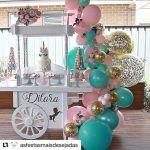 decoracion de fiestas en color rosa cuarzo (12)