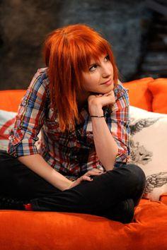 Hayley Williams - orange red