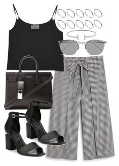 """""""Untitled #20034"""" by florencia95 ❤ liked on Polyvore featuring Monki, Antipodium, Linda Farrow, Yves Saint Laurent, Alexander Wang, ASOS and Humble Chic"""