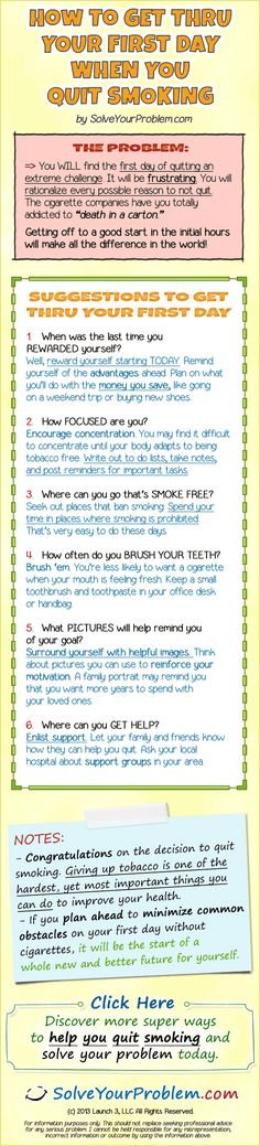 Quit Smoking First Day www.smokefreeelectroniccigarettes.com