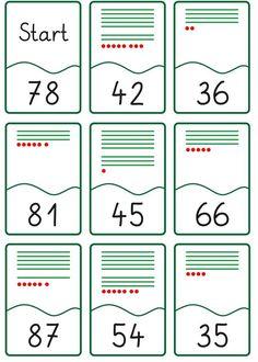 Lernstübchen: Lesespiel - Zahldarstellung bis 100