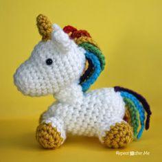 Crochet Unicorn Amigurumi