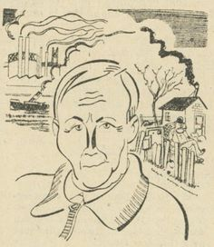 René Jouglet par Soupault, Charivari 1933.