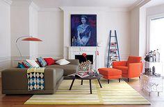 orange armchair - Google 検索