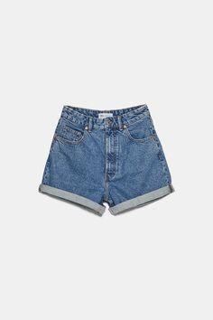 Pull and bear Pull & Bear, Zara Shorts, Denim Shorts, Look Short Jeans, High Waisted Shorts, Casual Shorts, Collection Zara, Jupe Short, Zara Home Stores