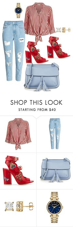"""Untitled #741"" by stylemirror ❤ liked on Polyvore featuring River Island, Laurence Dacade, KC Jagger and Karl Lagerfeld"