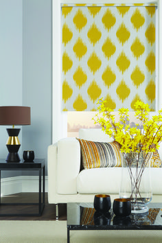 Saddleworth Blinds offer the most stylish window blinds Saddleworth has to offer! We have the biggest range of window blinds and shutters in Saddleworth. Yellow Roller Blinds, Roller Shades, House Blinds, Blinds For Windows, Roller Blinds Kitchen, Perfect Fit Blinds, Fitted Blinds, Best Blinds, Paint Colors For Living Room