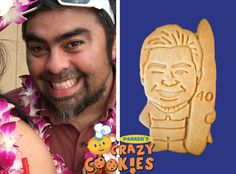40th Birthday Party Ideas - Custom Cookies - Personalized Gifts - Surprises