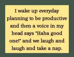 Another description of procrastination..