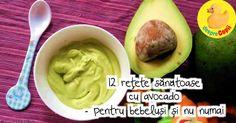 12 retete sanatoase cu avocado pentru bebelusi si nu numai | Desprecopii.com Avocado Baby, Baby Food Recipes, Guacamole, Keto, Homemade, Vegan, Ethnic Recipes, Food, Recipes For Baby Food