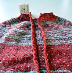 med pinner: Oppklipping av strikka ting Men Sweater, Knitting, Crochet, Sweaters, Tips, Fashion, Hobbies, Moda, Tricot