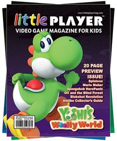 Little Player - Video Game Magazine for Kids by Martin Alessi — Kickstarter