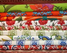 Pacific & Rose Hand Blocked Textiles