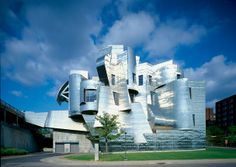 7 of Frank Gehry's major buildings