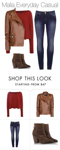 """""""Malia Everyday Casual"""" by marisaborek ❤ liked on Polyvore featuring Crea Concept, MANGO and rag & bone"""