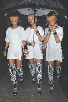Rihanna's boots!