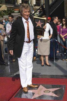 Rod Stewart   Hollywood Walk Of Fame