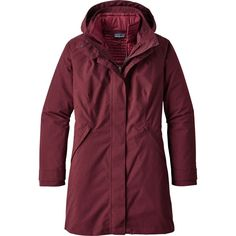 Patagonia - Vosque 3-In-1 Parka - Women's - Dark Ruby