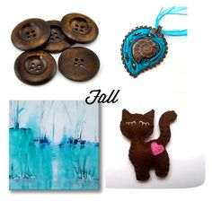 Fall in love with unique, handmde gifts for all occasion on Etsy! You can find the cute cat and other felt ornaments here: https://www.etsy.com/shop/grabacoffee Beautiful handmade wire-wrapped jewerly: https://www.etsy.com/shop/AnnaWireJewelry Original abstract paintings: https://www.etsy.com/shop/Svetlansa  Large supply of Fold Over Elastic, Wooden Buttons, Spikes, Studs, Rivets: https://www.etsy.com/shop/SuppliesSundries