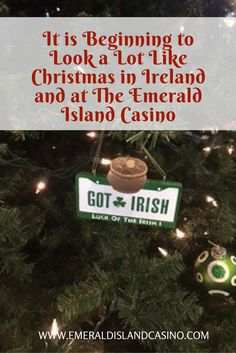 Experience Christmas in Ireland at Emerald Island Casino!