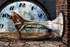 Slavery of Time de Michael Borgulat Maya, Art Deco, Time Warp, Weird World, Surreal Art, Online Gallery, Photo Manipulation, New Pictures, Illusions