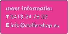 stoffenshop.eu - ongeveer 10 euro verzendingskosten - veel tricot