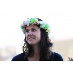 Couronne de fleurs Margaret