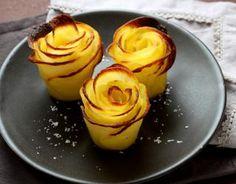 Recette - Comment faire des roses de pommes de terre ? en pas à pas