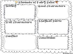 Graphic organizer students complete while reading through fairy tales and fractured fairy tales. Teaching Language Arts, Teaching Writing, Teaching Ideas, Kindergarten Writing, Teaching Tools, Library Lessons, Reading Lessons, Reading Resources, Reading Skills