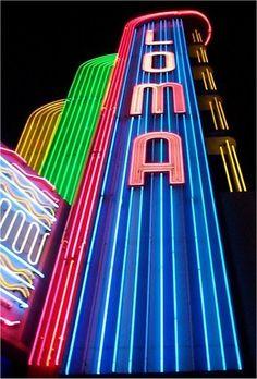 Loma Theatre in Point Loma, San Diego, California.