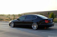 Slammed Lexus GS300 Rolling Shots - AZHT.