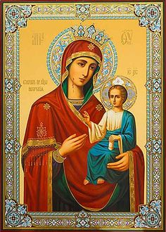 Mother of God of the Iveron - St. Elisabeth Convent -  #CatalogOfGoodDeeds…