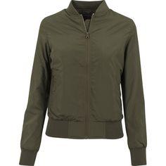Urban Classics Ladies - Light Bomber Jacket Dark Olive