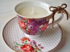 Unscented Cottage Chic Upcycled Polka Dot by SteamworkDesigns, £10.00