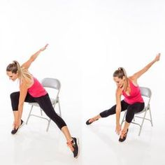 Full-Body Workout Chair Exercises - Seated Full-Body Workout Routine - Shape Magazine