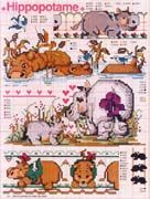 hippo CROSS-STITCH