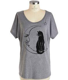 cat + moon