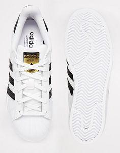 best cheap 59282 6edad Adidas  adidas Originals Superstar White amp Black Trainers Black And  White Trainers, Black