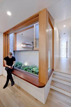 A House That Goes Modern Behind its Traditional Facade - Design Milk