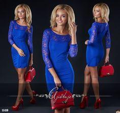 Платье-мини с рукавами и верхом из гипюра, лучший подарок для женщины, девушки…