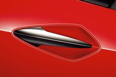 The door handle to the Honda Civic Type-R FN2.