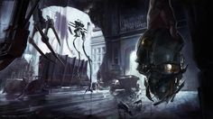 Dishonored concept art.