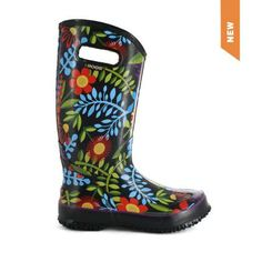 """Cheer up on those rainy days in Canada by putting on these awesome rubber boots. People will be asking """"Where did you get those? ..and you got your Bogs and others here.. http://www.onlineshoppingmallcanada.ca/apparel-clothing/shoes/womens-shoes/women-s-rubber-boots-shoes-bogs#.UynP3YWm0-8"""