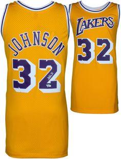 Autographed Magic Johnson Lakers Jersey Fanatics Authentic COA Item 2359285   sportsmemorabilia  autograph   cadfc1fe2